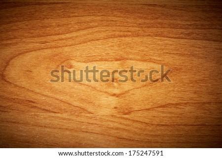 Textured wood panel. In fact it is the door of kitchen furniture - stock photo