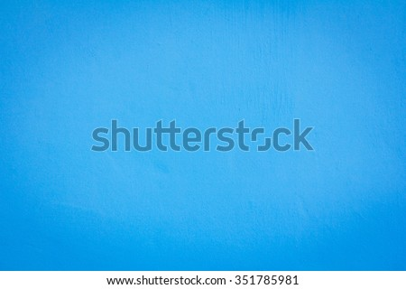 Textures on the blue wall, for background. - stock photo