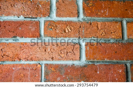 Textures Red Brick Wall Background