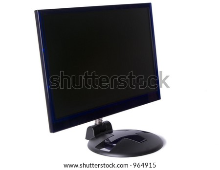 TFT monitor with a side on viewpoint