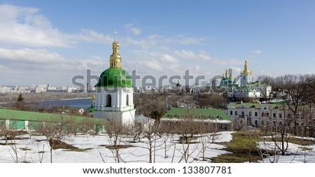 Th Cave Monastery in Kiev, Ukraine - stock photo