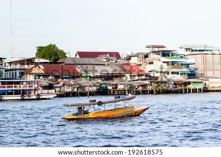 Thai Boat - stock photo