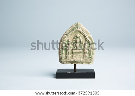 Thai Buddhist Clay Amulet