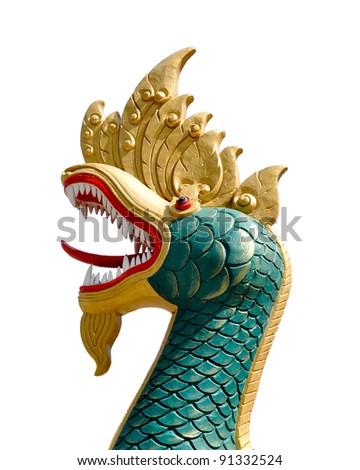 Thai dragon - stock photo