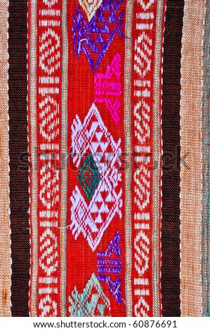 Thai Fabric pattern