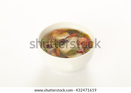 Thai Food ,Tom Yum soup