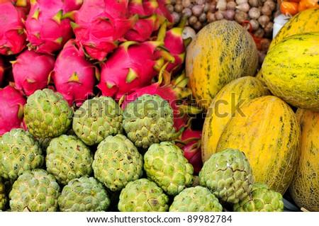 Thai fruit - stock photo