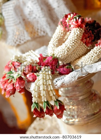 Thai Garland - stock photo