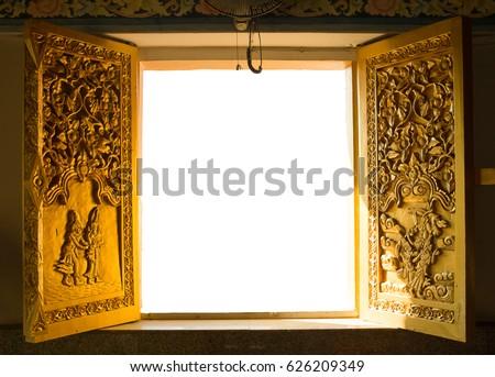 Thai golden door In temple & Golden Door Stock Images Royalty-Free Images u0026 Vectors | Shutterstock pezcame.com