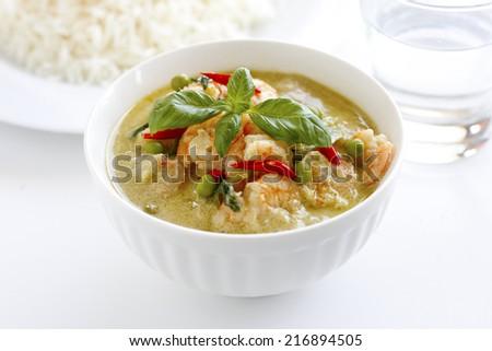 Thai Green Curry - stock photo