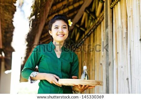 thai massage specialist - stock photo