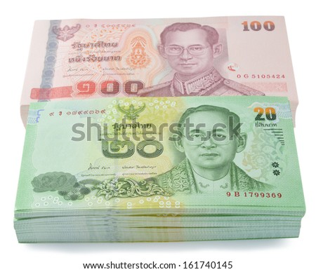 thai money - stock photo