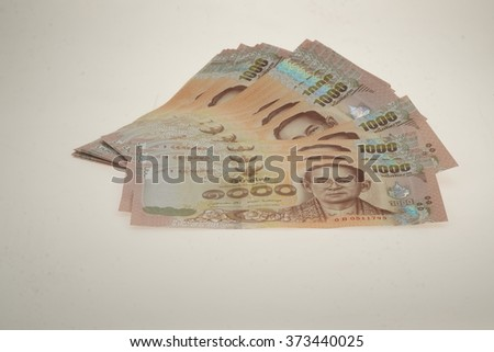 Thai money - stock photo