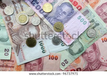 Thai money - Baht - stock photo
