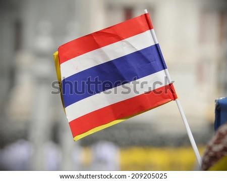 Thai Paper Flag  - stock photo