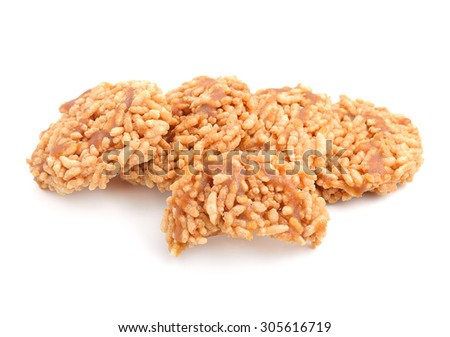 Thai rice cracker