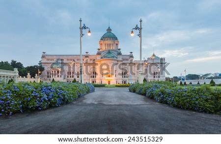 Thai Royal Dusit Palace - stock photo