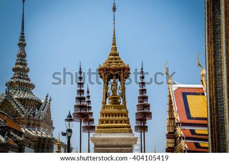 Thai Royal Grand Palace  - stock photo