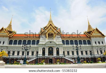Thai royal palace - stock photo