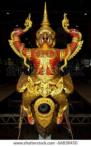 thai royal prow - stock photo