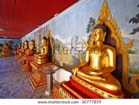 thai shrine - stock photo