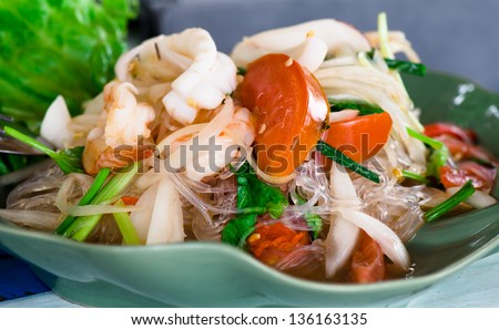 Thai Kitchen Cold Thai Noodle Salad | Share The Knownledge