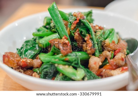 Thai stir fried