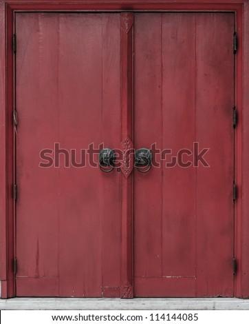 Thai style door background & thai Door\