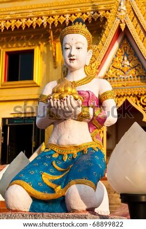 Thai style girl angel, Thailand. - stock photo