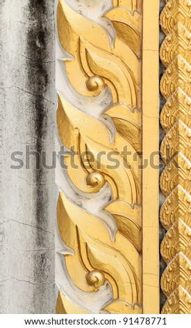 Thai style sculpture art - stock photo