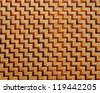 Thai weave pattern. - stock photo