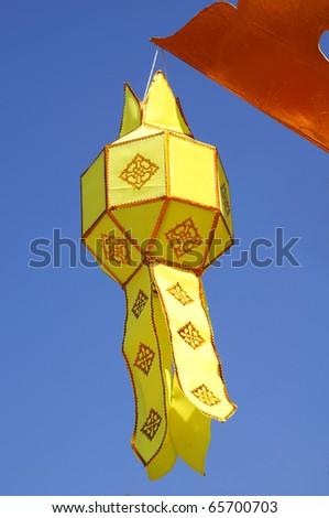 Thailand Lantern style - stock photo