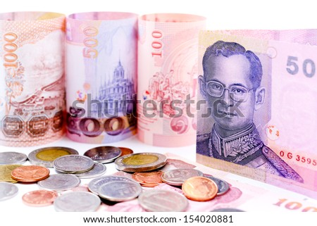 Thailand money for business - stock photo