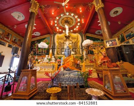 Thailand's Buddha Sculpture - stock photo