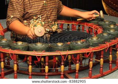 Thailand Xylophone - stock photo