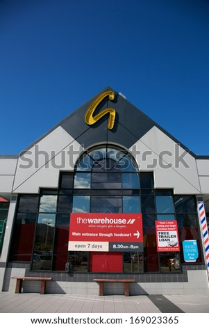THAMES, NEW ZEALAND - September 17: Pak'n Save supermarket on September 17, 2013. Pak'n Save is a New Zealand discount supermarket chain founded in 1985.