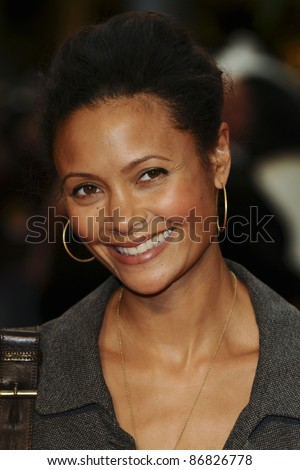"Thandie Newton arrives for the ""Kung Fu Panda 2"" premiere at Westfield, Shepherd's Bush, London. 05/06/2011  Picture by: Steve Vas / Featureflash"