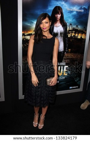 """Thandie Newton at the """"Rogue"""" L.A. Premiere, Arclight, Hollywood, CA 03-26-13 - stock photo"""