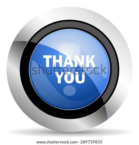 thank you icon original modern design for web and mobile app on white background   - stock photo