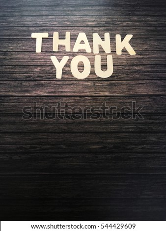 thankyou stock images royalty free images vectors With thank you wooden letters