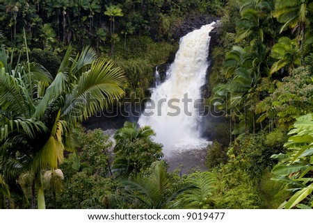 Thanks to The Inn at Kulaniapia for access to this amazing waterfall durring peak flow. The inn and the waterfall are located near Hilo on the Big Island of Hawaii.