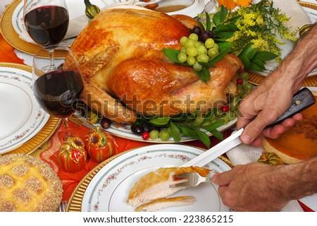 Thanksgiving - stock photo