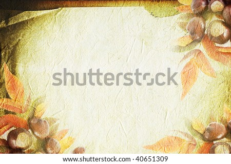 Thanksgiving Concept background - stock photo
