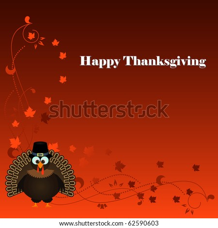 Thanksgiving raster - stock photo