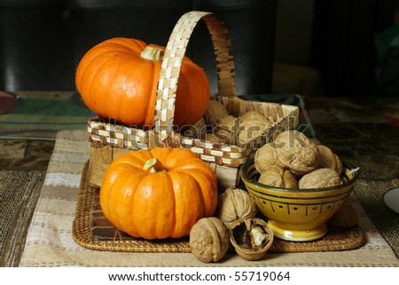 Thanksgiving theme - stock photo