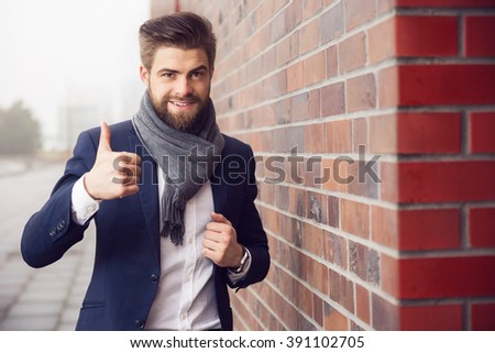 That's great! - stock photo