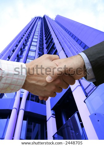 That's the deal !! - stock photo