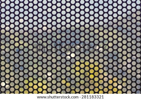 The abstract background with the pattern of circles. - stock photo