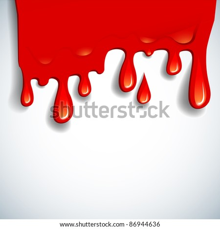 the abstract blood background - stock photo