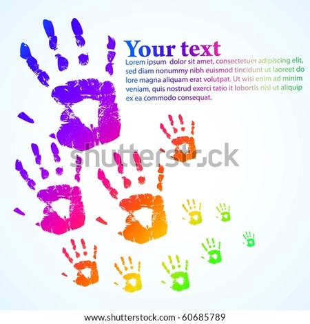the abstract color background (vector version in portfolio) - stock photo